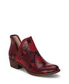 Baley Printed Booties