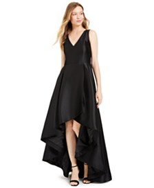 Calvin Klein High-Low A-Line Gown