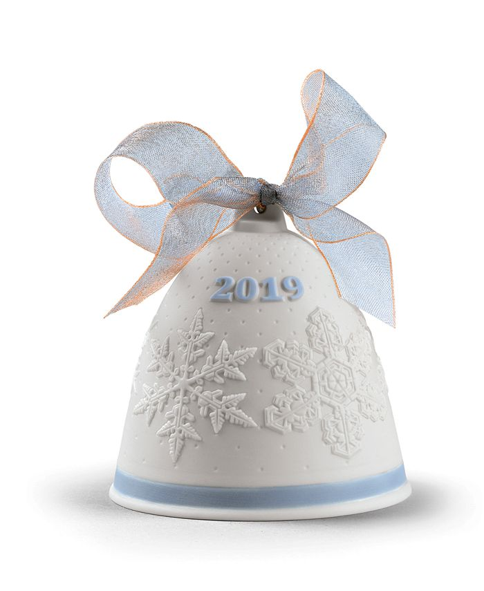 Lladró - 2019 Christmas Bell Ornament