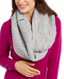 Michael Michael Kors Patchwork Cable Infinity Scarf