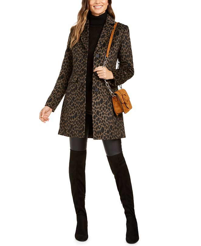 Laundry by Shelli Segal Single Breasted Coat