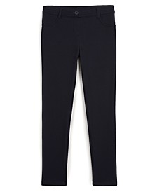 Big Girls School Uniform Jeggings