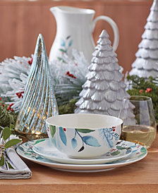 Lenox Frosted Pines Dinnerware Collection