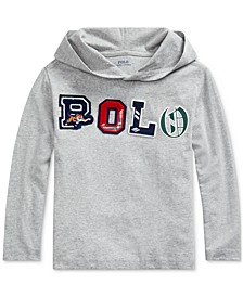 Toddler Boys Hooded Jersey Shirt