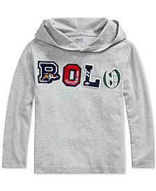Polo Ralph Lauren Toddler Boys Hooded Jersey Shirt