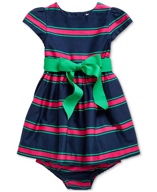 Polo Ralph Lauren Baby Girls Cotton Cricket Dress