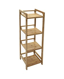 Redmon Bamboo 4 Tier Shelf