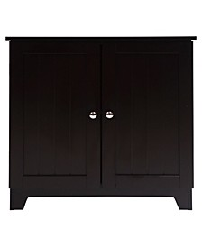 Redmon Contemporary Country Double Door Cabinet