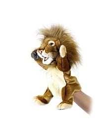 Hansa Lion Hand Puppet Plush Toy