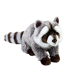 Lelly National Geographic Raccoon Plush Toy