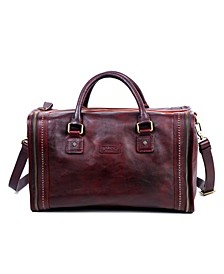 Cambria Leather Satchel Bag