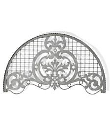 StyleCraft Ornate Galvanized Distressed Metal Wall Art