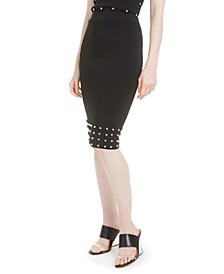 Studded Pencil Skirt, Created For Macy's