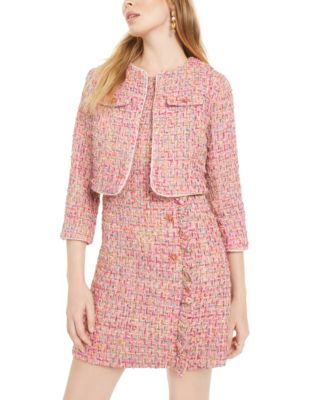 Tweed Coverup Jacket