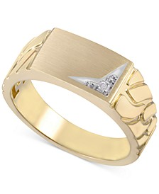 Men's Diamond Accent Ring in 10k Gold
