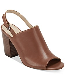Wala Slingback Leather Booties