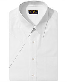 Club Room Solid Short-Sleeved Dress Shirt, Created for Macy's