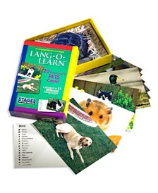 Stages Learning Materials Lang-O-Learn ESL Vocabulary Cards Flashcards, Pets