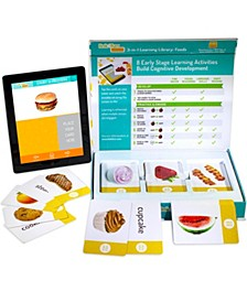 Link4fun Foods Master Pack of 3 Interactive Flashcard Sets with free iPad App
