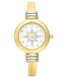 Women's Two-Tone Bangle Bracelet Watch 28mm, Created for Macy's