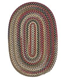 Chestnut Knoll Straw Beige 2' x 4' Accent Rug
