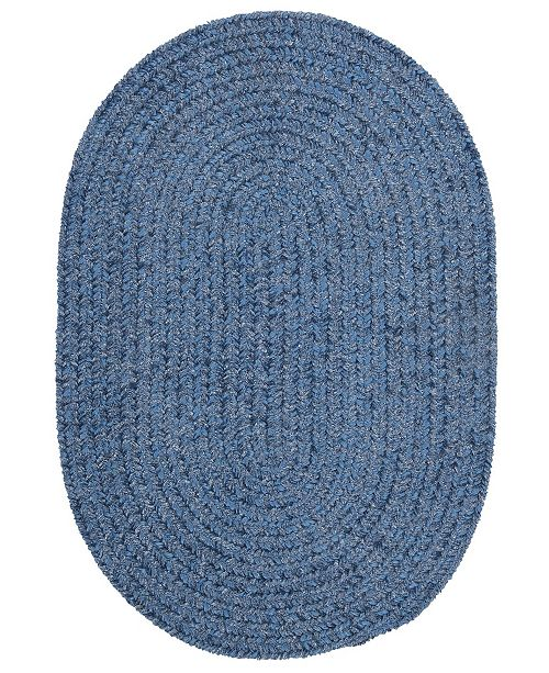 Colonial Mills Spring Meadow Petal Blue 2' x 4' Accent Rug