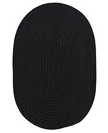 Boca Raton Black 2' x 4' Accent Rug