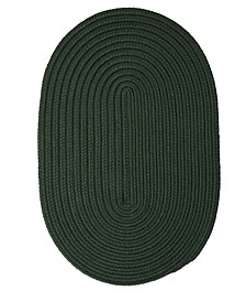 Boca Raton Dark Green 2' x 3' Accent Rug