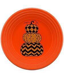 "Geo Pumpkin 9"" Lunch Plate"