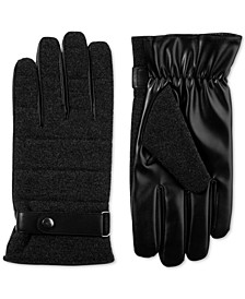 Men's Faux-Wool smarTouch Gloves