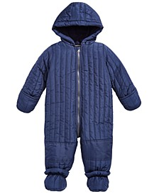 Baby Boys Quilted Snowsuit, Created for Macy's