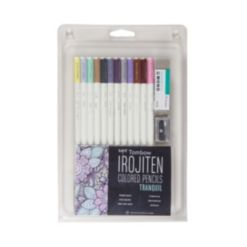 Tombow Irojiten Colored Pencil Set, Tranquil