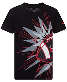 Nike Little Boys Football-Print Cotton T-Shirt