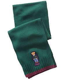 Polo Ralph Lauren Men's St. Andrew Bear Scarf