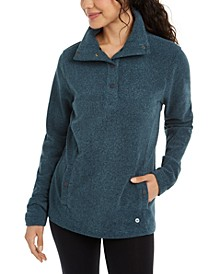Snap-Front Wind-Resistant Top