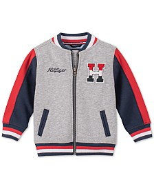 Tommy Hilfiger Big Boys Wayne Colorblocked Basketball Jacket