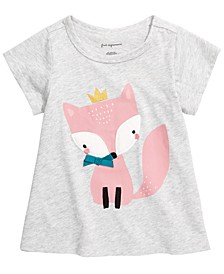 Toddler Girls Fox T-Shirt, Created for Macy's