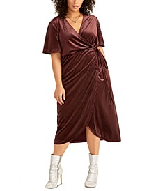 Trendy Plus Size Nomi Wrap Dress
