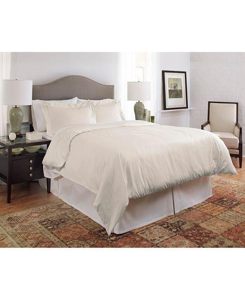 Pointehaven 450 Thread Count Dobby Cotton King/California King Duvet Set