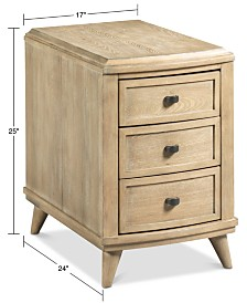 Piper Charging Chairside Table