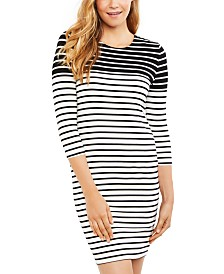 Jessica Simpson Maternity Ruched Nursing Dress