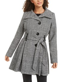 Madden Girl Juniors' Drama Skirted Coat