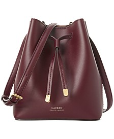 Debby II Leather Drawstring Bag