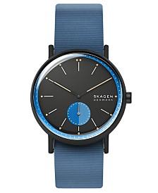 Skagen Men's Signatur Field Blue Silicone Strap Watch 42mm