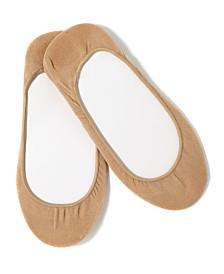 HUE® Women's Hidden Cotton No Show 4 Pack Socks