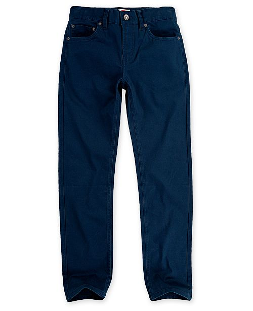 Levi's Big Boys 502™ Regular Tapered-Fit Stretch Water-Resistant Jeans