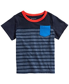 First Impressions Baby Boys Cotton Pocket T-Shirt, Created for Macy's