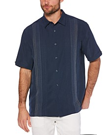 Men's Big & Tall Textured Stripe Shirt