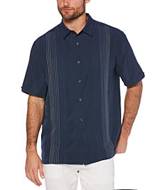 Cubavera Men's Big & Tall Textured Stripe Shirt