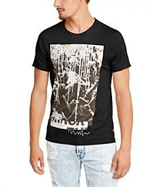 Men's Mosh Pit Paint Drip Graphic T-Shirt